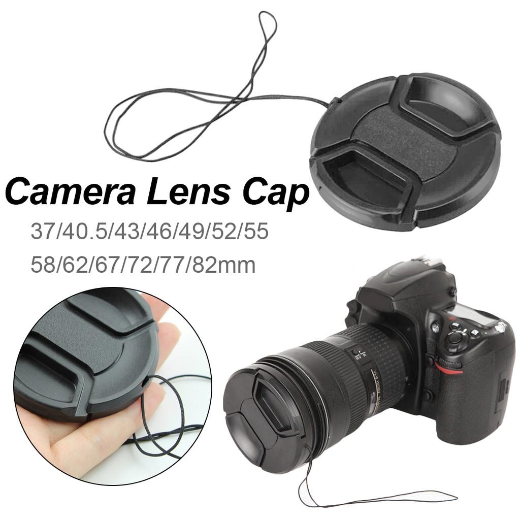 Nắp đậy thấu kính máy ảnh chuyên nghiệp dành cho camera Canon/Nikon/Pentax/Sony