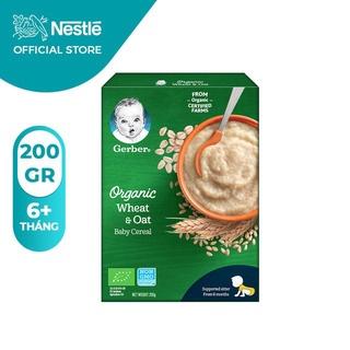 Date T5-22 Bột Gerber Organic vị Yến Mạch và Lúa Mỳ 200gr thumbnail