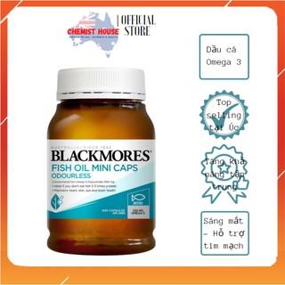 [Hàng Chuẩn ÚC] Blackmores Odourless Fish Oil - Viên uống Dầu cá Không Mùi Mini Caps 400 viên DATE 2023 MẪU MỚI SX thumbnail