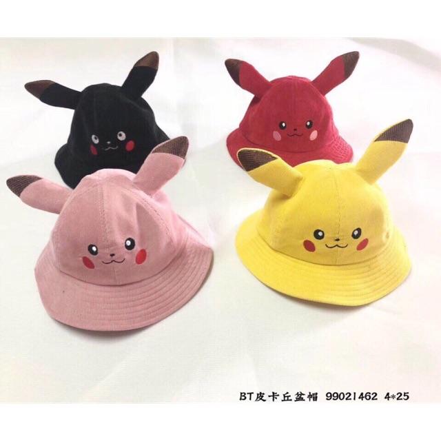 Mũ pikachu ( hàng quảng châu - ảnh thật - có sẵn )