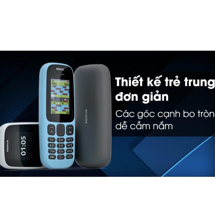 Điện thoại Nokia 105 Dual Sim 2017 - Chính hãng