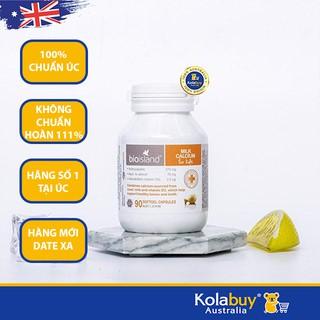 Viên uống Bổ sung Canxi cho bé của Úc Bio Island Milk Calcium Kids 90 viên thumbnail