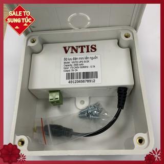 [GIÁ SỐC SHOPEE] Bộ lưu điện mini liền nguồn VNTIS 5v-2A |bộ lưu điện|bộ lưu điện camera|bộ lưu điện ups|bo luu dien