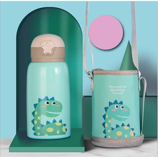 Bình nước cho bé Bình nước giữ nhiệt cho bé Bình nước trẻ em chất liệu inox 316