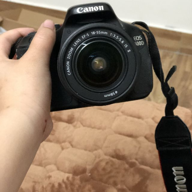 Pass máy ảnh CANON EOS 600D Full lens kit