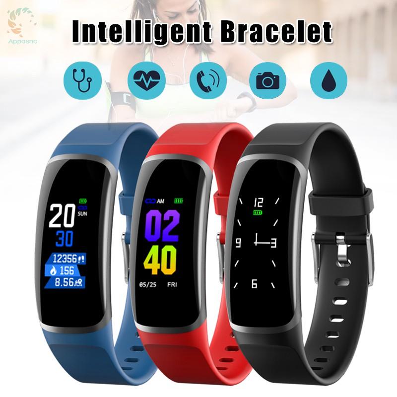 [BEST] Smart Watch Heart Rate Blood Pressure Detector Sports Watch IP67 Waterproof Bluetooth Bracelet