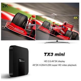 Android TV Box TX3 Mini 2G RAM 16G ROM Có Cổng Quang