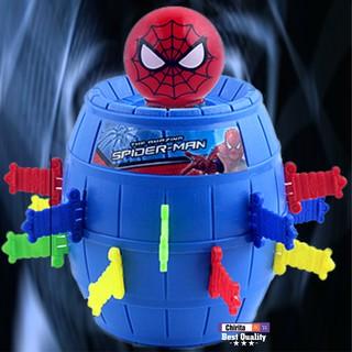 Trò Chơi Đâm Hải Tặc Spiderman – Trò Chơi Lucky Game Người Nhện Size Lớn