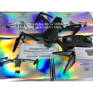 Flycam sjrc f11 bản pro camera 2k bay 28p xa 1200m có gps tự bay về 2019