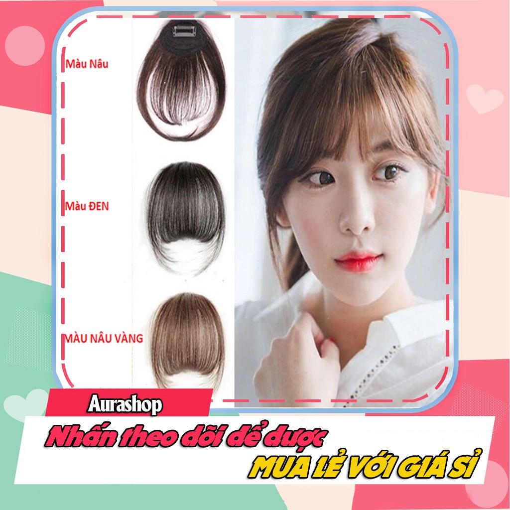 Tóc Mái Thưa Giả Hàn Quốc y như tóc thật