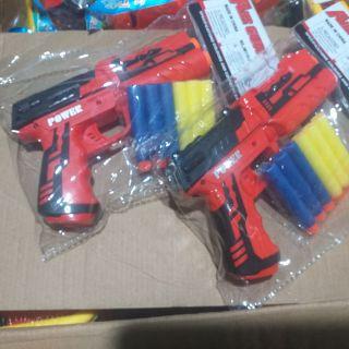 Bộ sản phẩm súng bắn xốp dính