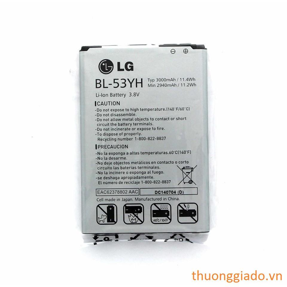 PIN LG G3/ F400/ D855-LG BL-53YH ORIGINAL BATTERY - 3356925 , 624621905 , 322_624621905 , 290000 , PIN-LG-G3-F400-D855-LG-BL-53YH-ORIGINAL-BATTERY-322_624621905 , shopee.vn , PIN LG G3/ F400/ D855-LG BL-53YH ORIGINAL BATTERY