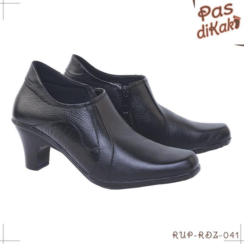 Giày Bốt Da Thời Trang Cho Nữ   Black / Tpr   Rdz-rup-041 (21)