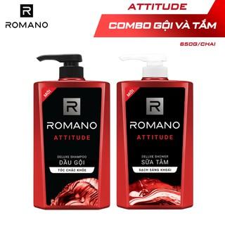 """Combo Dầu gội và Sữa tắm cao cấp Romano Attitude 650g/chai giá chỉ còn <strong class=""""price"""">21.900.000.000đ</strong>"""