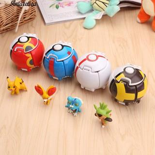 ♥♥♥4Pcs Pokemon Pikachu Poke Pop-up Demation Toy