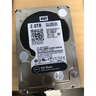 Ổ cứng HDD 2T Western Digital Black