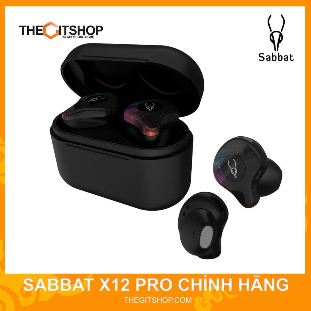 Tai nghe Sabbat X12 Pro - tai nghe bluetooth không dây hoàn toàn truewireless - chống mỏi tai