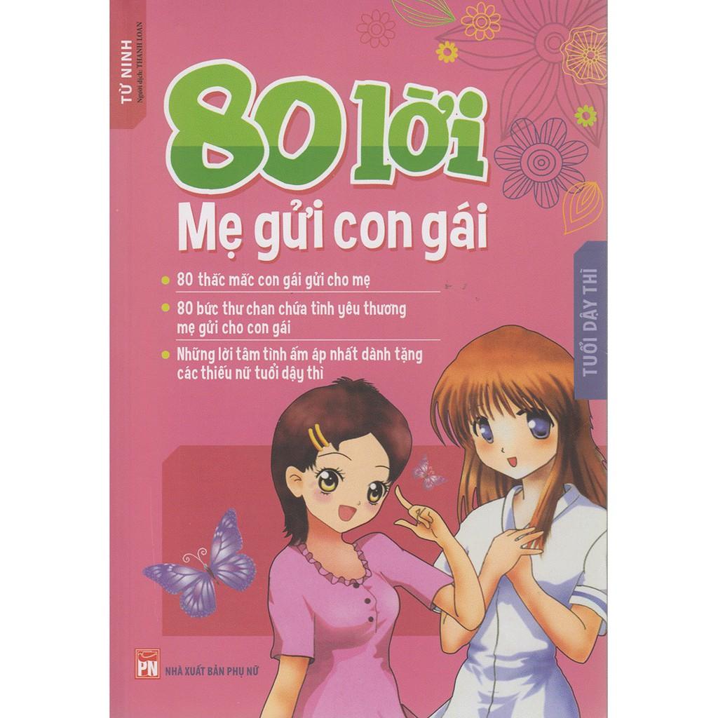 Sách: 80 Lời Mẹ Gửi Con Gái B90(TB)