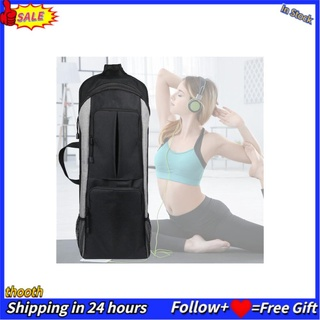 Thooth Multi‑function Yoga Bag Durable Polyester Lightweight Gym 20-35L Large Capacity for Outdoor