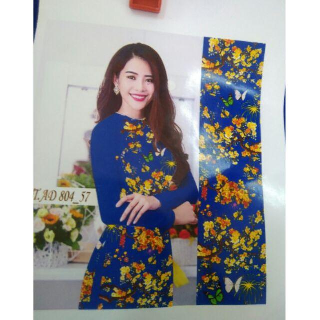 Vải áo dài lụa Nhật 3d - 2734693 , 938490659 , 322_938490659 , 360000 , Vai-ao-dai-lua-Nhat-3d-322_938490659 , shopee.vn , Vải áo dài lụa Nhật 3d