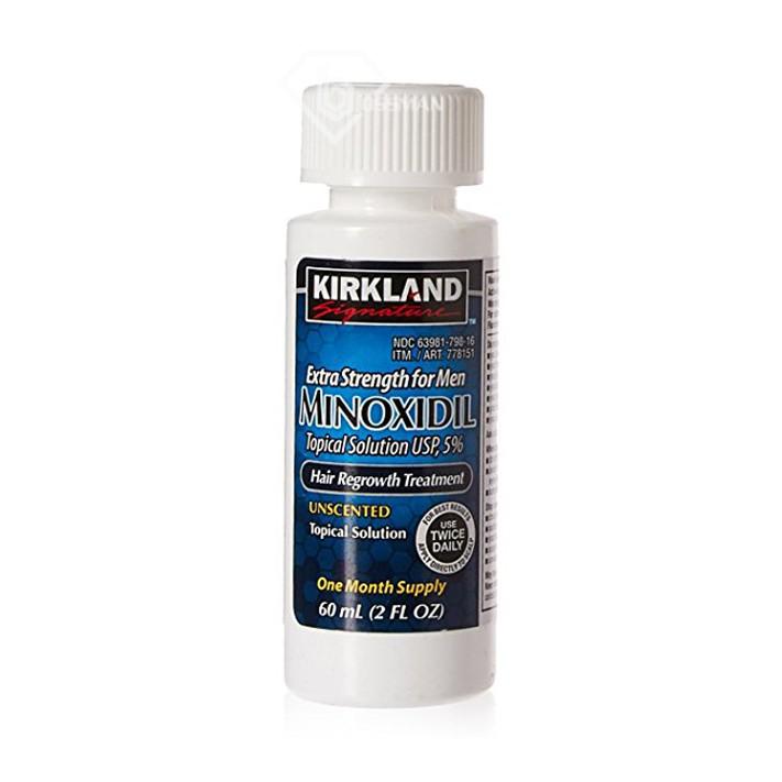 Minoxidil 5% Kirkland chính hãng - Thuốc Mọc Râu Tóc
