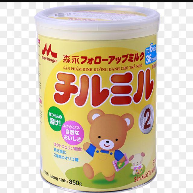 sữa nhật morinaga số 2 -850g (date t4/ 2021)