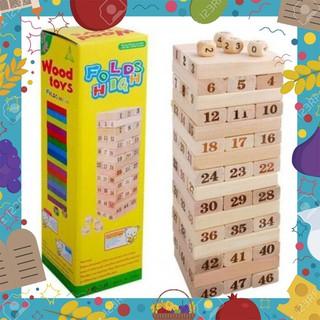 [ Giá Rẻ Nhất ] đồ chơi rút gỗ loại TO