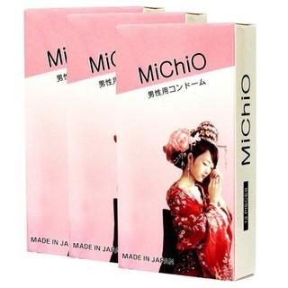 Bao Cao Su MICHIO Gân Gai Hộp 12 Chiêc thumbnail