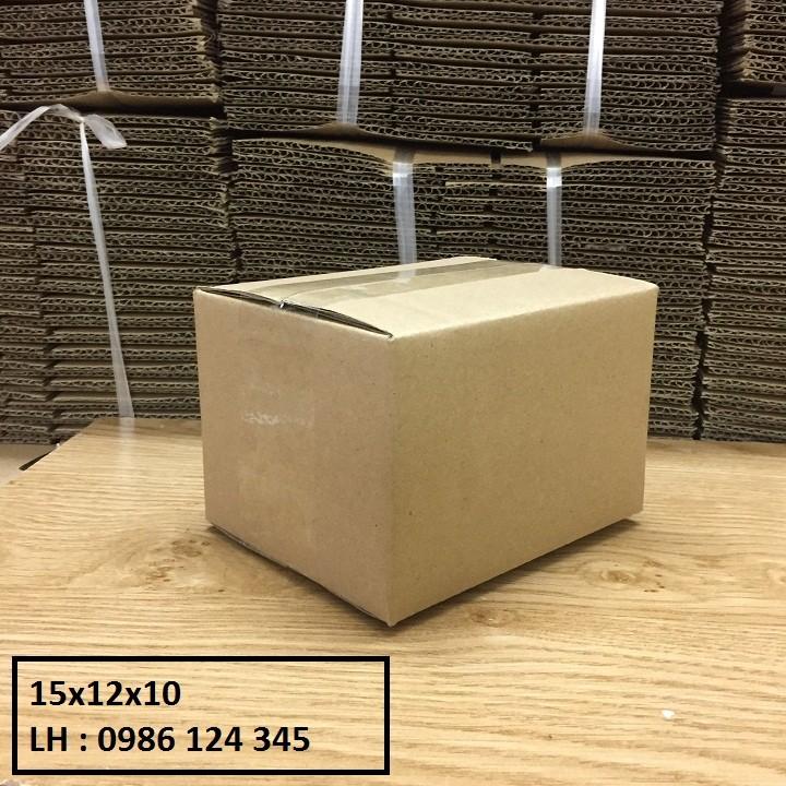 15x12x10 Combo 140 hộp carton đóng hàng