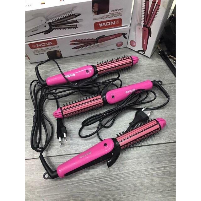 Lược điện máy làm tóc Nova 3 in 1 xoăn uốn dập ép - 3066857 , 367225773 , 322_367225773 , 80000 , Luoc-dien-may-lam-toc-Nova-3-in-1-xoan-uon-dap-ep-322_367225773 , shopee.vn , Lược điện máy làm tóc Nova 3 in 1 xoăn uốn dập ép