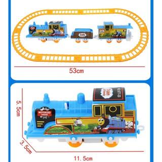 Bộ đồ chơi đường ray tàu hoả cho bé