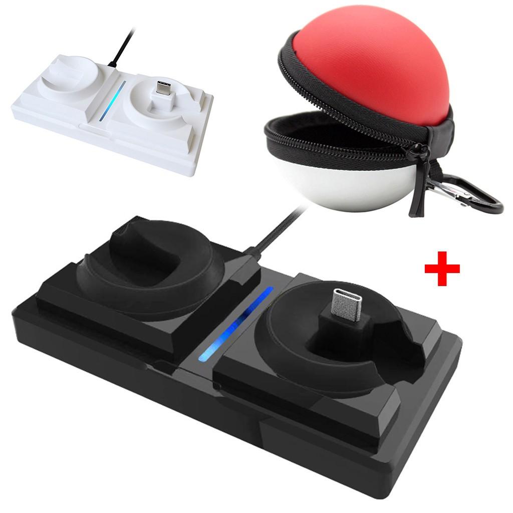 Đế sạc đứng và túi đựng cho máy chơi game Nintendo Switch - 14182502 , 2293694355 , 322_2293694355 , 310000 , De-sac-dung-va-tui-dung-cho-may-choi-game-Nintendo-Switch-322_2293694355 , shopee.vn , Đế sạc đứng và túi đựng cho máy chơi game Nintendo Switch