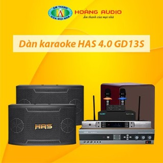 Bộ dàn karaoke gia đình HAS 4.0 GD13S thumbnail