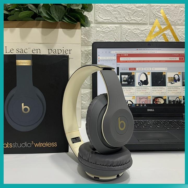 Tai Nghe Nhạc Headphone Bluetooth Chụp Tai Không Dây BEAT STUDIO 3  - Tai Nghe Điện Thoại Blutooth Mini