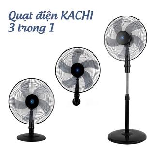 Quạt điện đa năng 3in1 Kachi MK145 - Màu đen