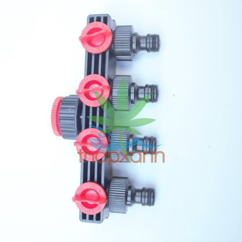 Đầu nối nhanh chia 4, Khớp nối nhanh chia 4 có van khóa (vào 34, 25 ra 4 đầu 16) - 13663181 , 1227734041 , 322_1227734041 , 100000 , Dau-noi-nhanh-chia-4-Khop-noi-nhanh-chia-4-co-van-khoa-vao-34-25-ra-4-dau-16-322_1227734041 , shopee.vn , Đầu nối nhanh chia 4, Khớp nối nhanh chia 4 có van khóa (vào 34, 25 ra 4 đầu 16)
