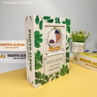 Album Ảnh Đựng 100 Ảnh 10x15 (Bìa Cứng) - Mẫu mới có ảnh bìa