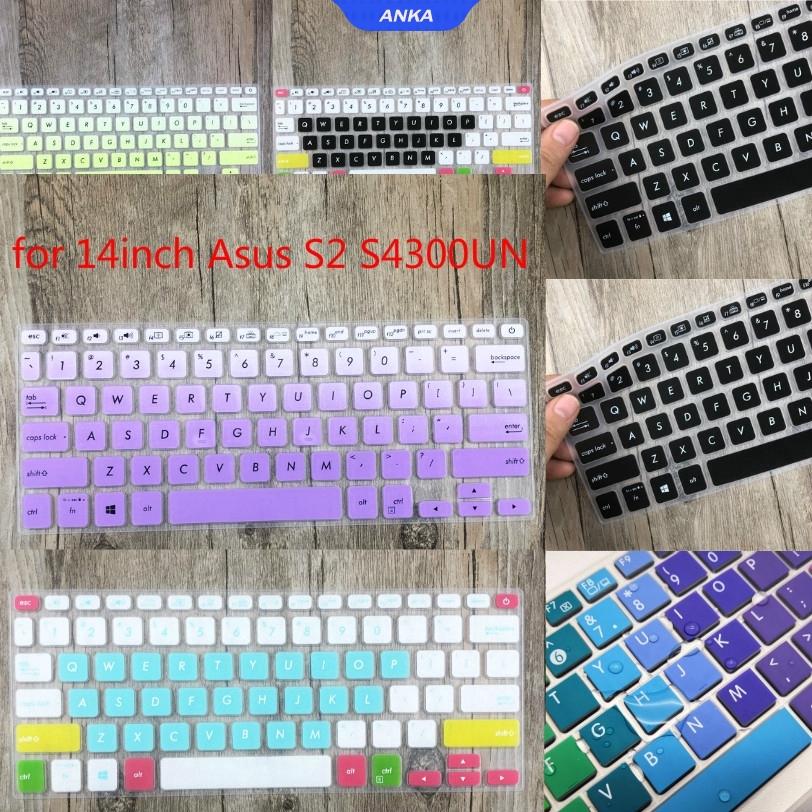 Miếng Dán Bảo Vệ Bàn Phím Cho Laptop Asus S2 S4300Un 14 Inch