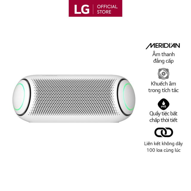 [Mã ELCEAUDIO12 giảm 5% đơn 500K] Loa Bluetooth Di Động LG Xboomgo PL5W - Hàng Chính Hãng - Màu Trắng