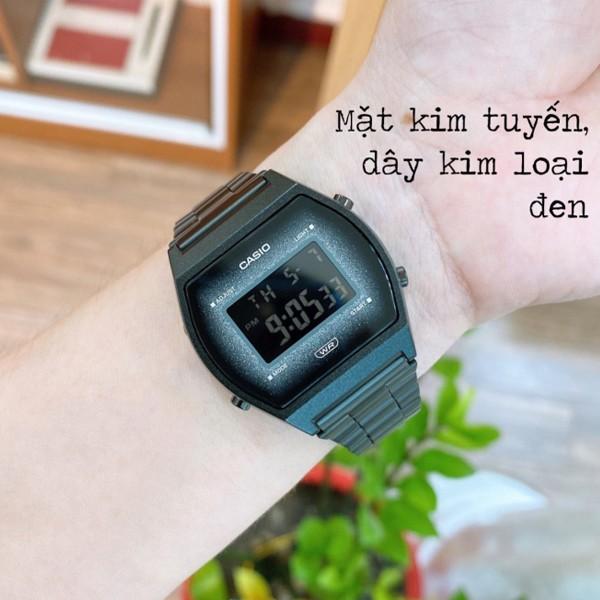 [Mã FARSBR243 giảm 15% đơn 249K] Đồng hồ nữ dây kim loại Casio Standard chính hãng Anh Khuê B640WBG-1BDF