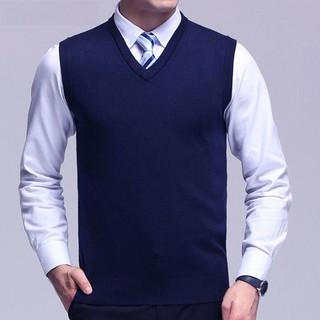 [Có Ảnh Thật] Áo len nam, áo gilê nam Mỏng thời trang