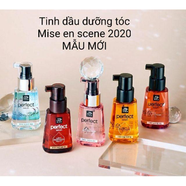 [Mã COS1901 hoàn 8% xu đơn 250K] Dưỡng Tóc Mise En Scene Perfect Hair Serum Styling và Golden Morocco