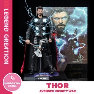 Mô hình Thor HC Toys Avengers Infinity War tỉ lệ 1/6 Marvel