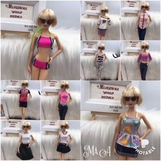 Đồ búp bê barbie, model muse. Mã A