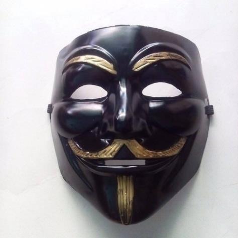 Mặt nạ hacker đen hóa trang ( Tongkhodochoilc )