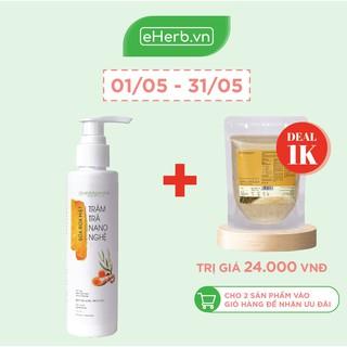 Sữa Rửa Mặt Tràm Trà Nano Nghệ Ngăn Ngừa Mụn, Làm Sạch Da Dịu Nhẹ Cho Da Mụn Nhạy Cảm MILAGANICS 135ml (Chai)