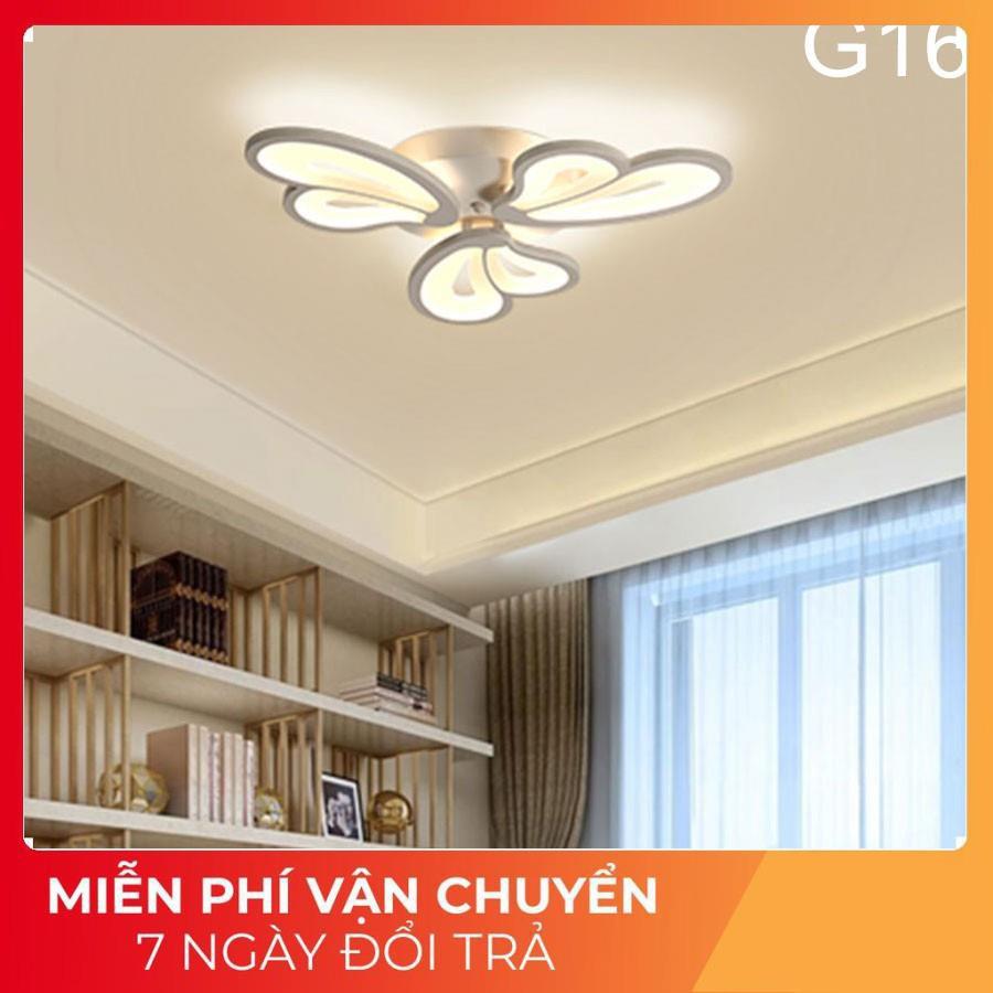 ĐÈN led ốp trần hiện đại-Đèn trần trang trí phòng khách,phòng ngủ, phòng bếp, có 3 chế độ sáng, bảo hành 1 năm