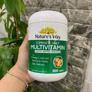 Viên uống Multivitamin kết hợp Tảo xoắn – 200 viên