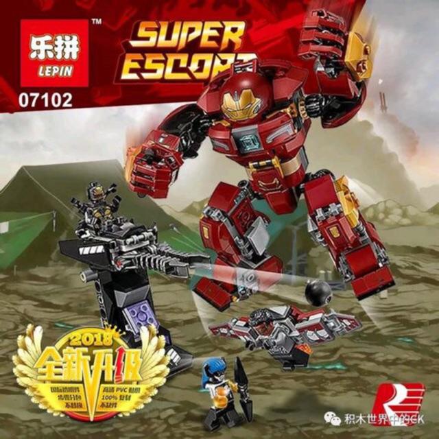 Lego super hero 07102+ SY1001 - Cuộc chiến của người sắt