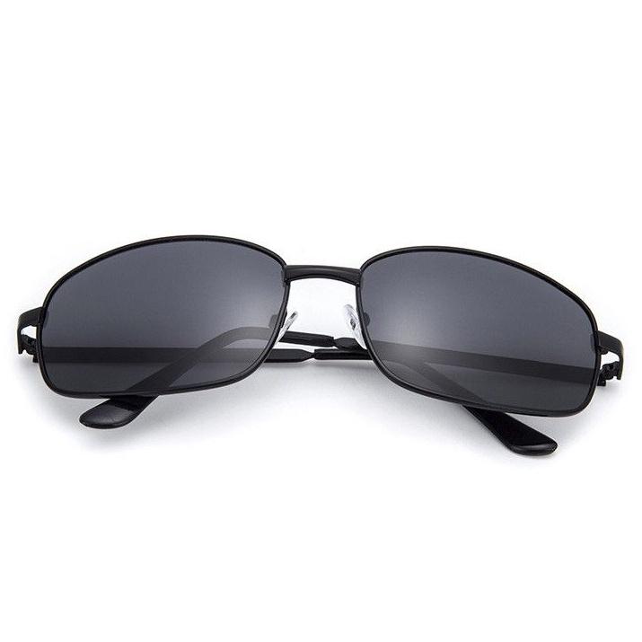 Kính mát nam TISSELLY MT03 kính râm lái xe thời trang gọng họp kim thép cao cấp